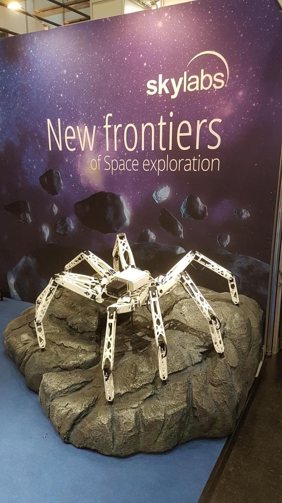 SARA - Slovenian Arachnid Robot Adventurer