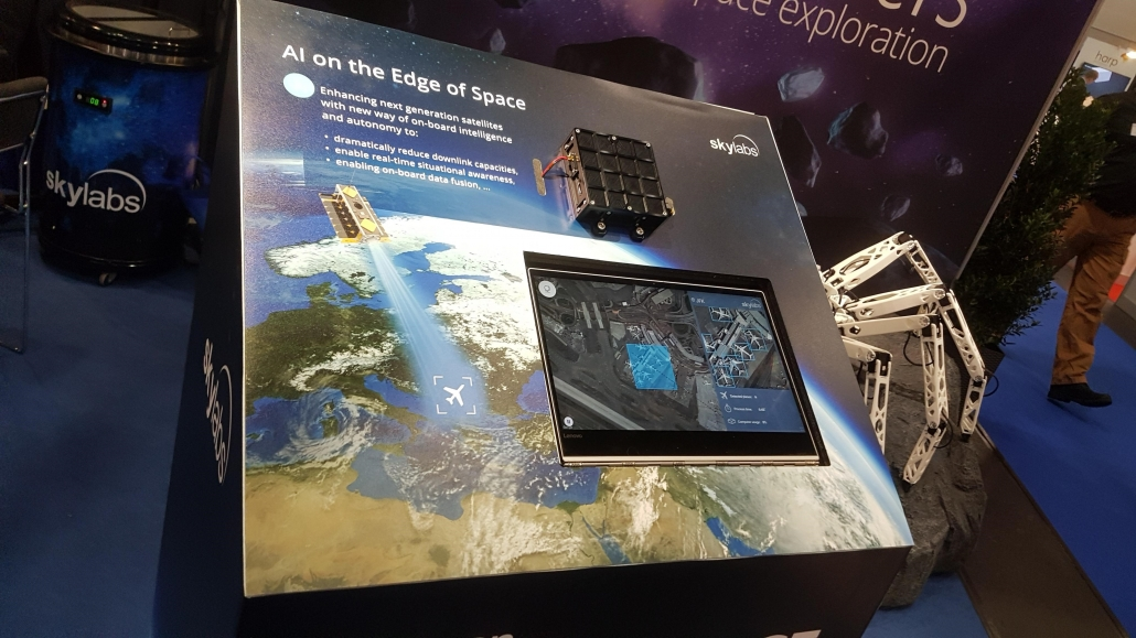AI on the Edge of Space